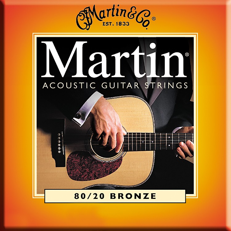 Martin M145 Light/Medium 80/20 Bronze Acoustic Guitar Strings