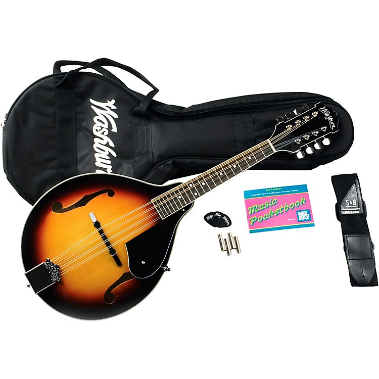 Washburn M1K A-Style Mandolin Package Sunburst