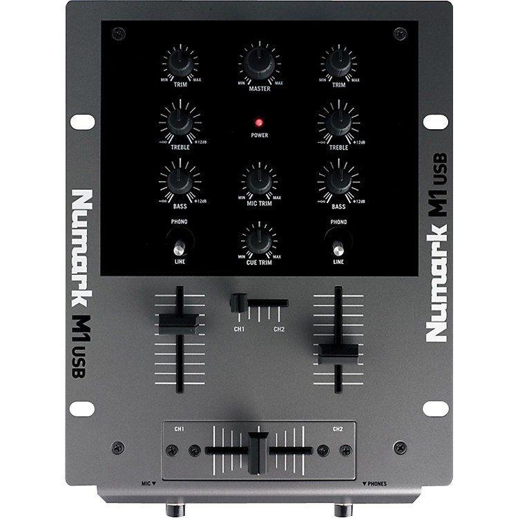 Numark M1USB DJ Mixer with USB