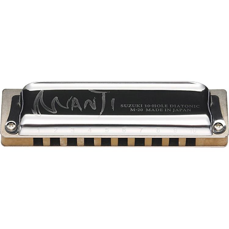 SuzukiM20 Manji 10-Hole HarmonicaG