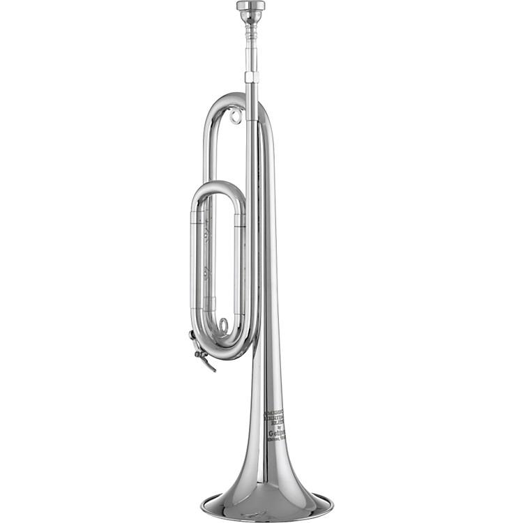 GetzenM2003E American Heritage Elite Series Bb Field TrumpetSilver