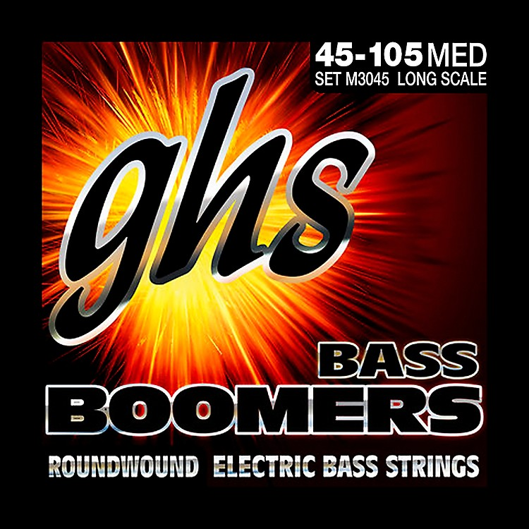 GHSM3045 Bass Boomers Medium Electric Bass Strings