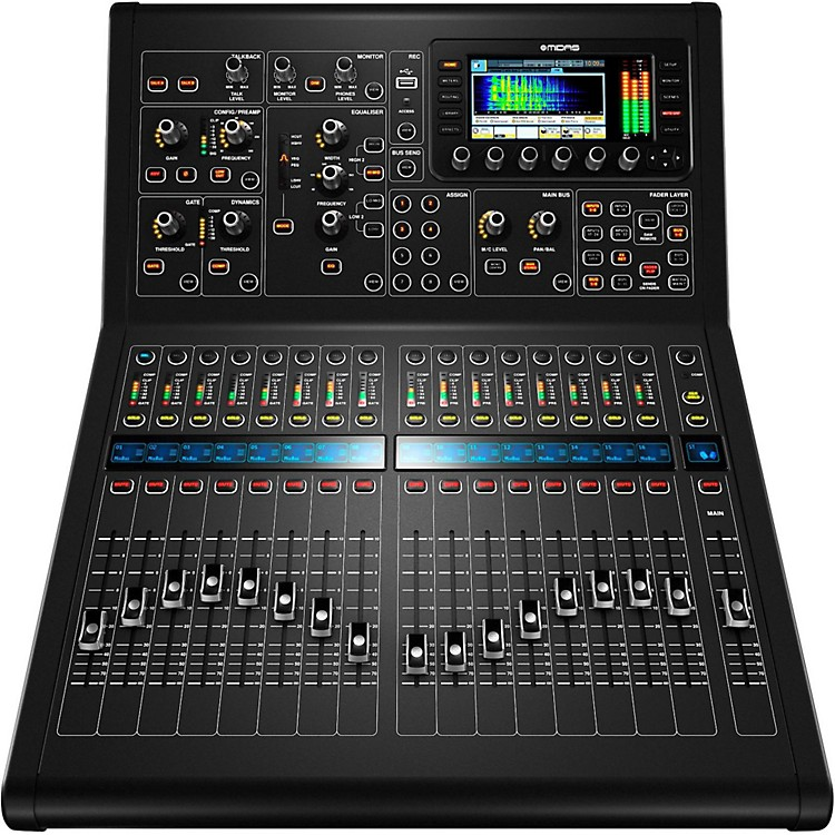 MidasM32R 40-Channel Digital Mixing Console