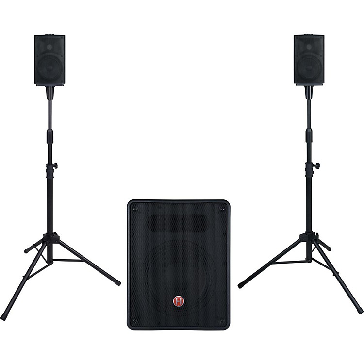 HarbingerM350 Portable PA System with Subwoofer