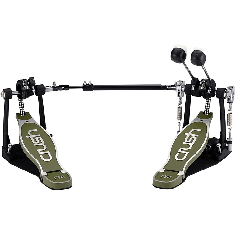Crush Drums & PercussionM4 Double Bass Drum Pedal with Hard Case