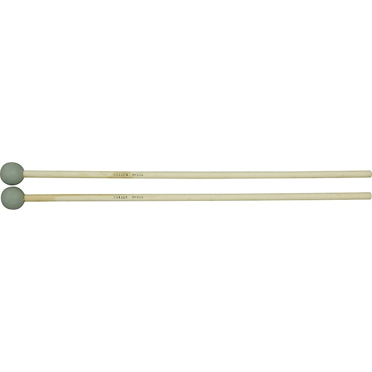 Musser M404 Medium Hard Grey Rubber Mallets