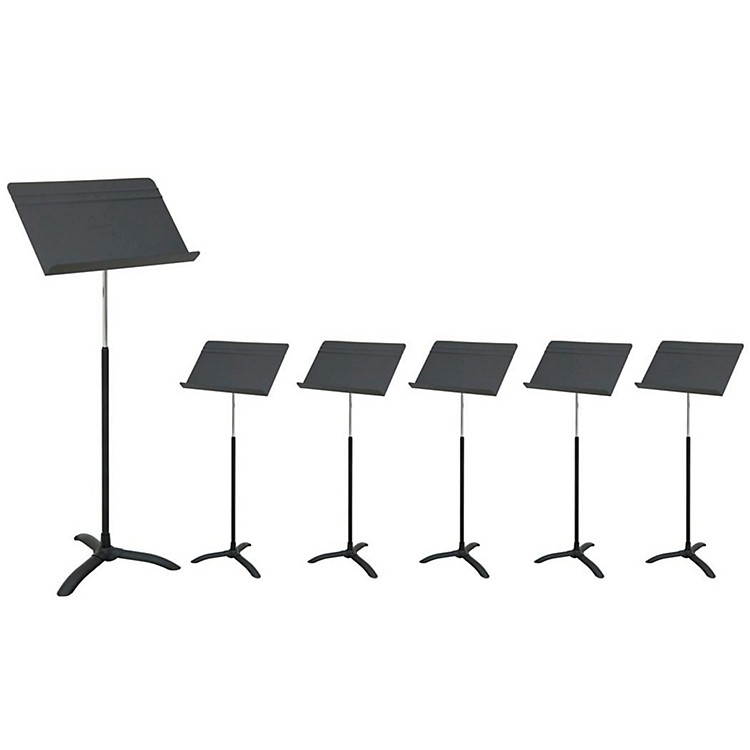 ManhassetM48 Carton of 6 Music Stands