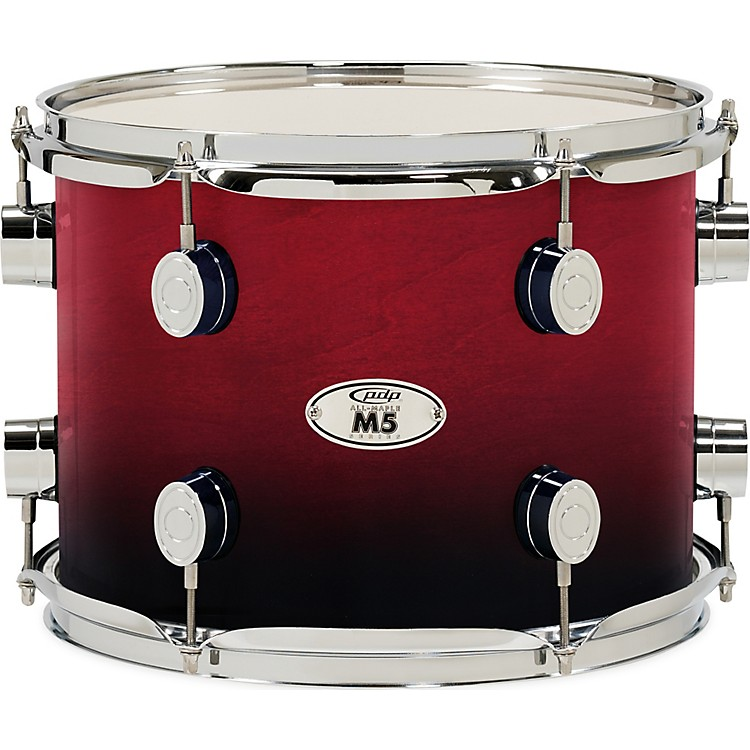 PDP M5 5-Piece Fusion Floor Shell Pack Cherry Fade