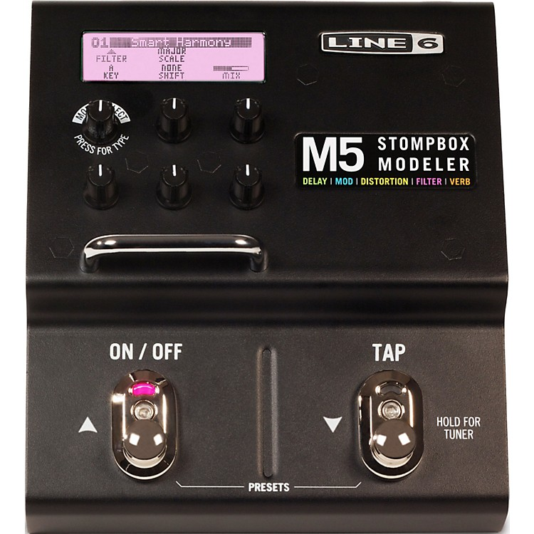 Line 6 M5 Stompbox Modeler Guitar Multi Effects Pedal