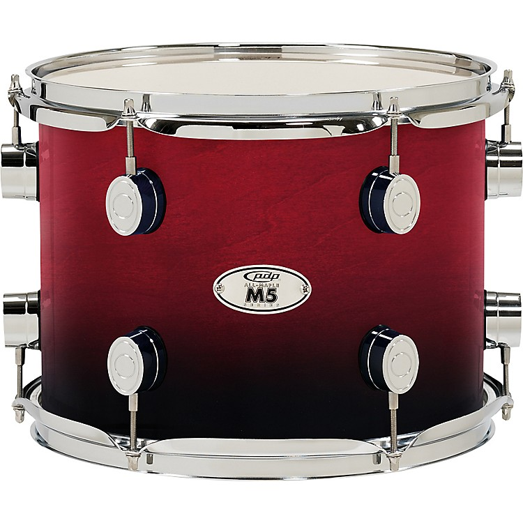 PDP M5 Tom Drum Cherry Fade 8in