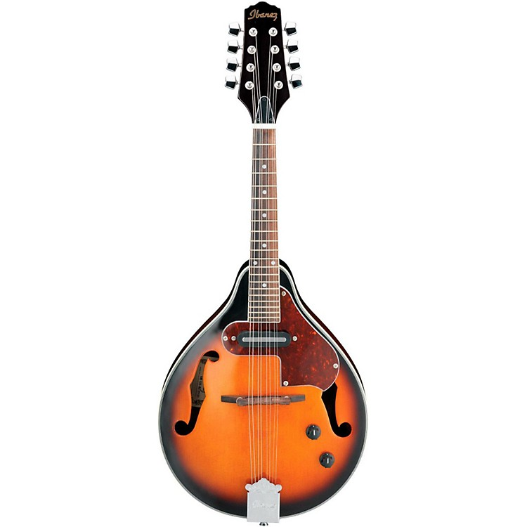 Ibanez M510E A-STYLE Acoustic-Electric Mandolin Brown Sunburst