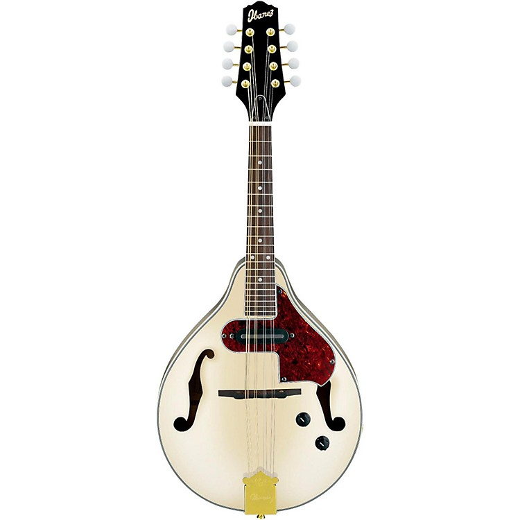 Ibanez M510E A-STYLE Acoustic-Electric Mandolin Ivory