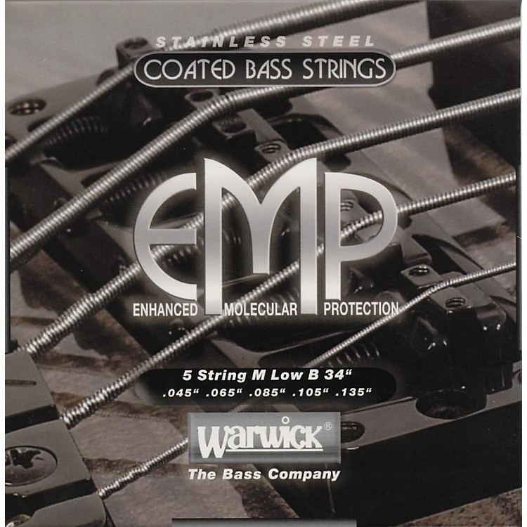 WarwickM5B EMP COATED 5-String Bass Strings Medium