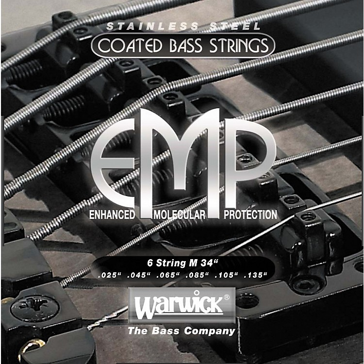 WarwickM6 EMP COATED 6-String Bass Strings Medium