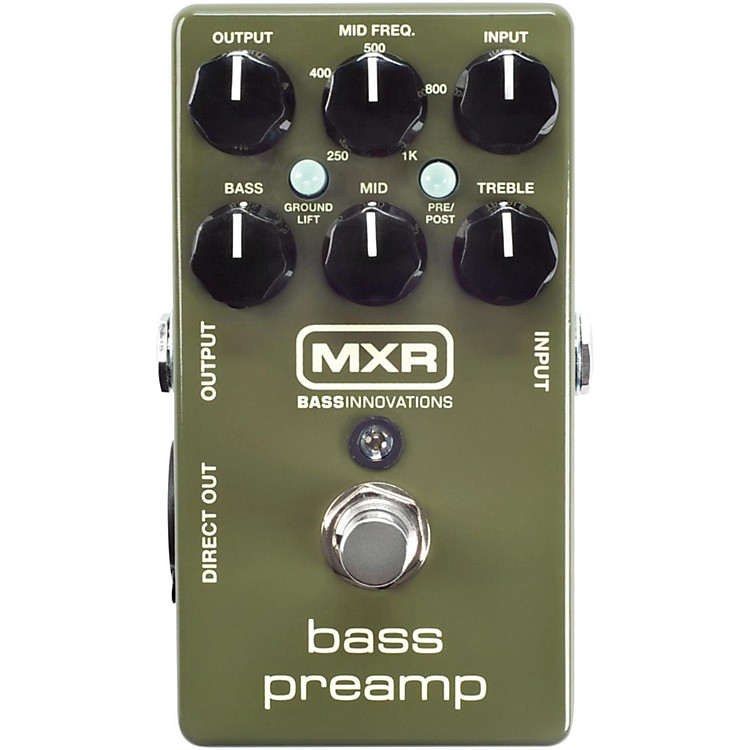 MXRM81 Bass Preamp