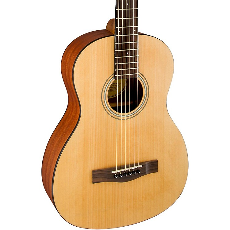 FenderMA-1 Parlor 3/4 Size Acoustic GuitarAgathis TopSatin Body Finish