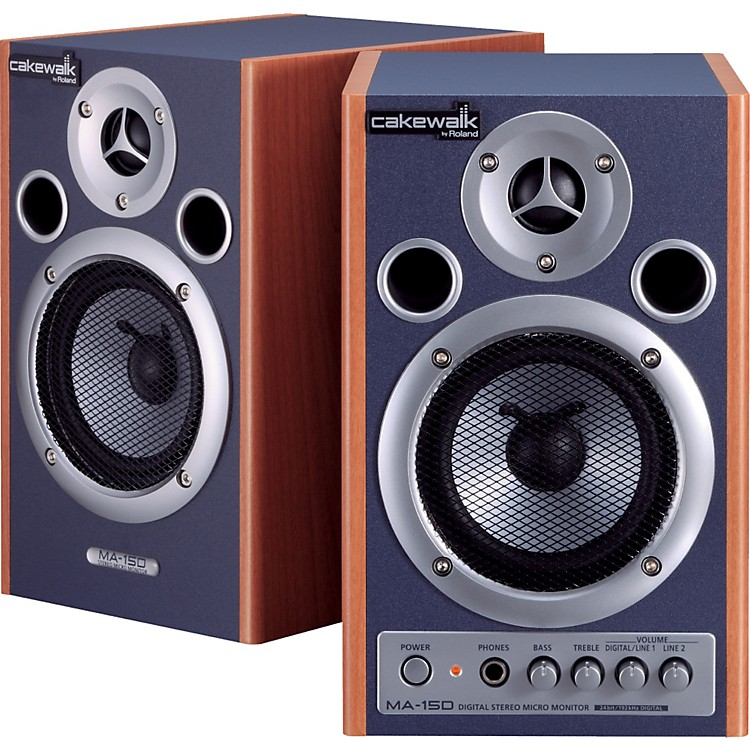 Cakewalk MA-15D Digital Stereo Micro Monitor Pair