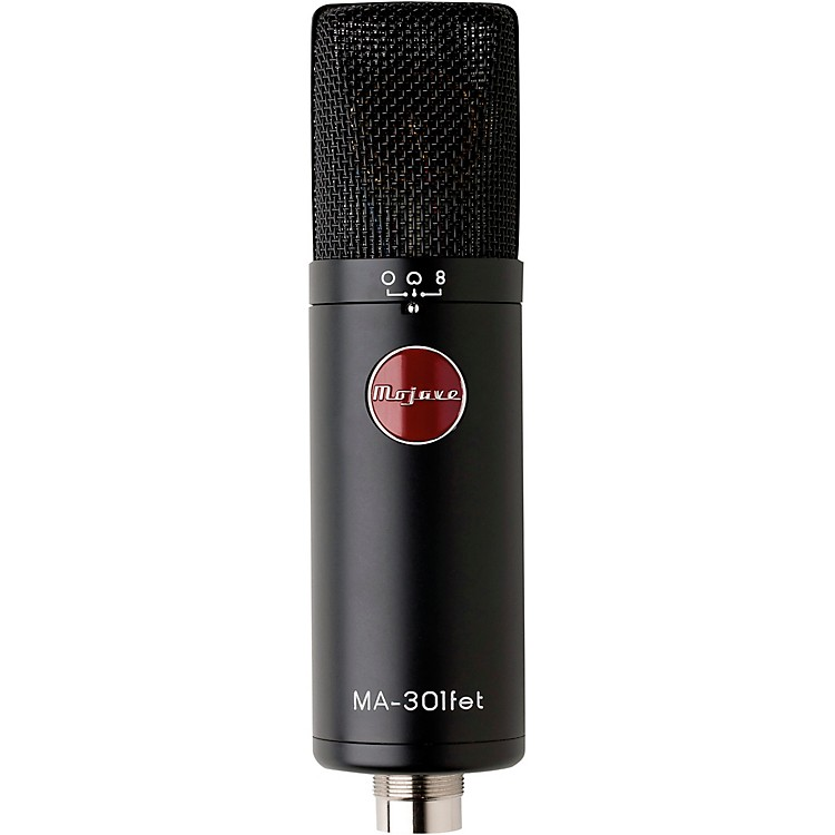 Mojave AudioMA-301FET Large Diaphragm Multipattern Condenser Microphone