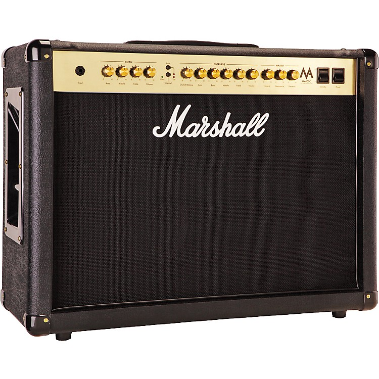 Marshall MA Series MA100C 100W 2x12 Tube Guitar Combo Amp Black