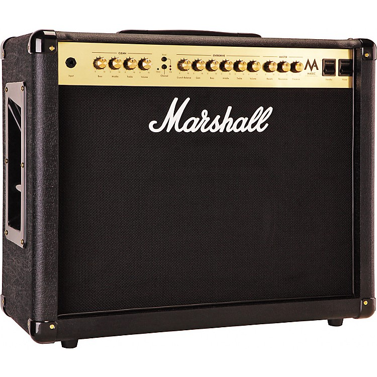 Marshall MA Series MA50C 50W 1x12 Tube Guitar Combo Amp Black