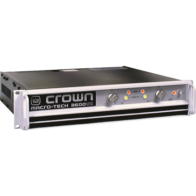 Crown MA3600VZ-Stereo Power Amp