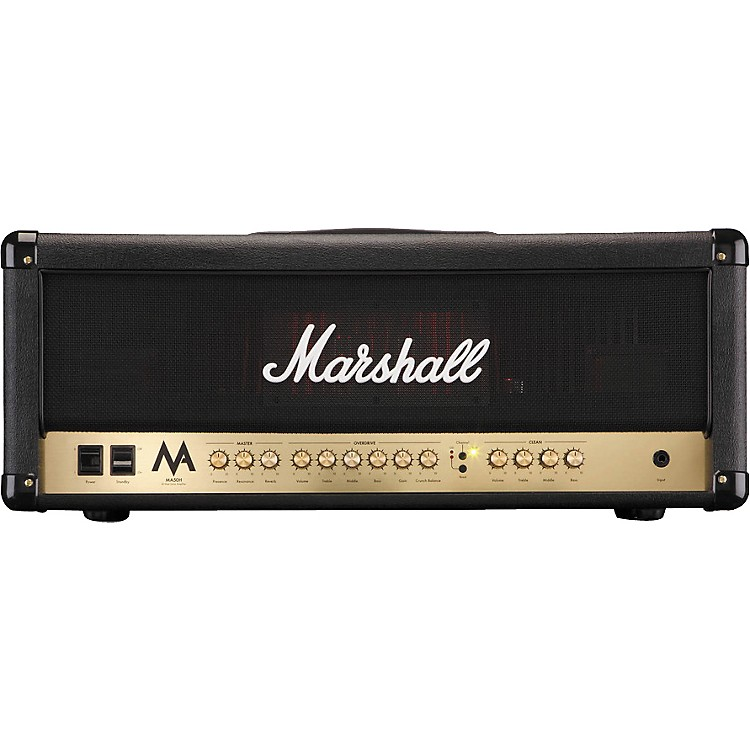 Marshall MA50H 50W Tube Guitar Amp Head Black