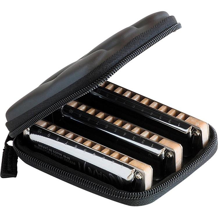SuzukiMANJI 3-Piece Harmonica Set Keys: (C, G, A)