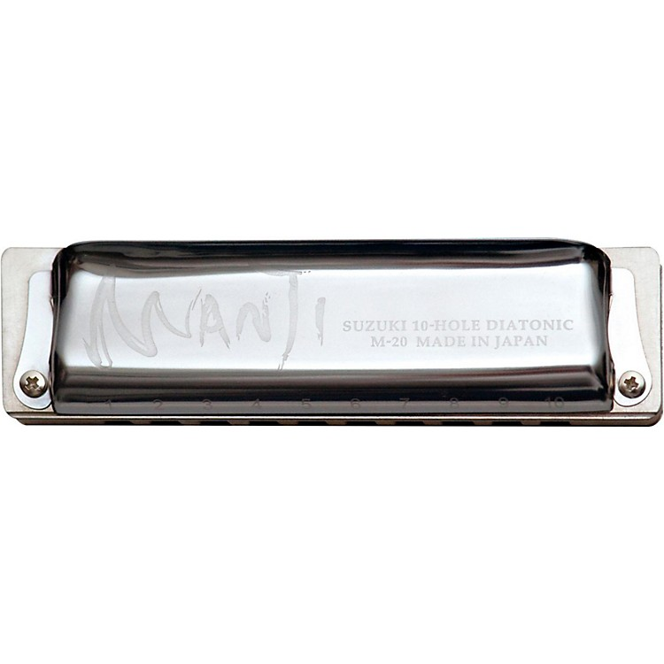 Suzuki MANJI Harmonica Major 7th Tuned D