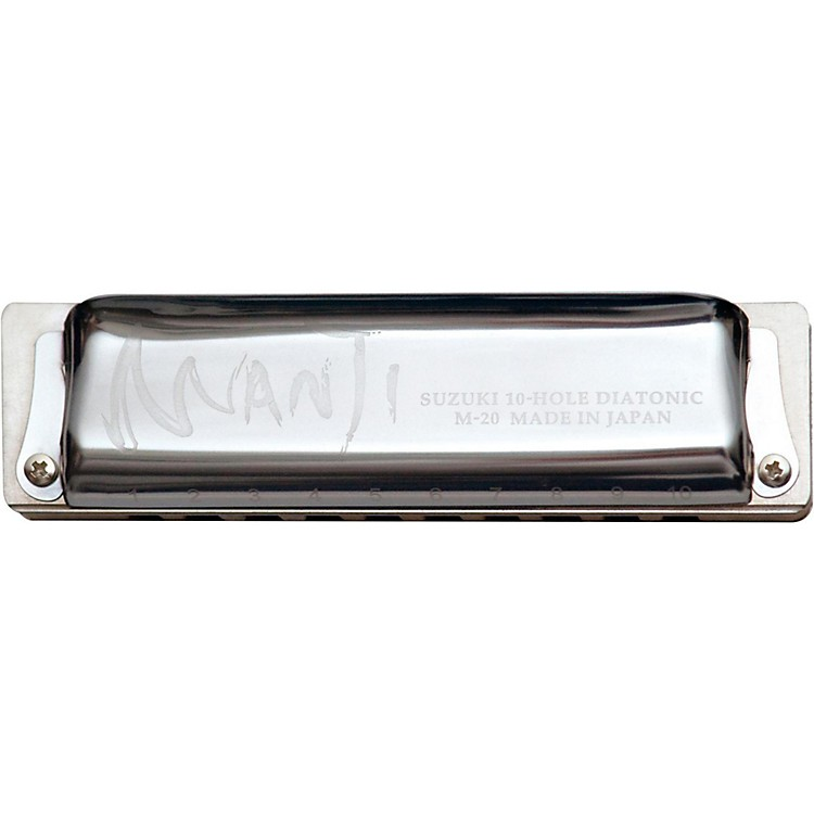 Suzuki MANJI Harmonica Natural Minor Tuned F