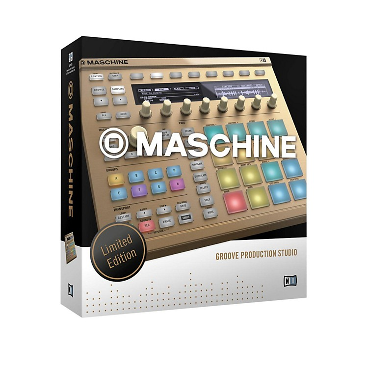 Native Instruments MASCHINE MK2 Vintage Gold