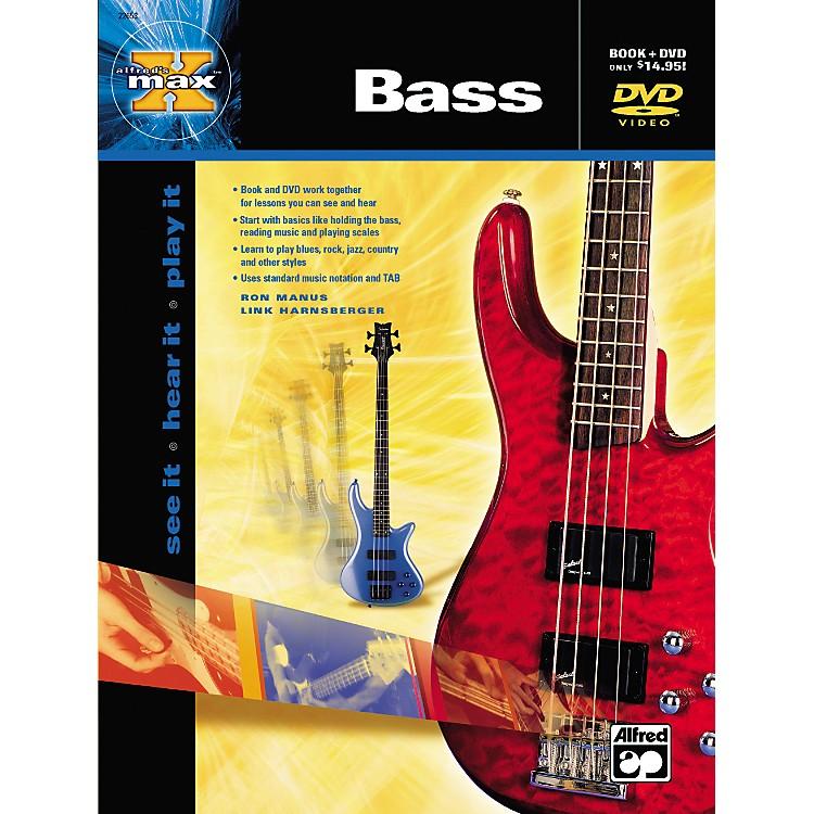 AlfredMAX Series Bass Instruction (Book/DVD)