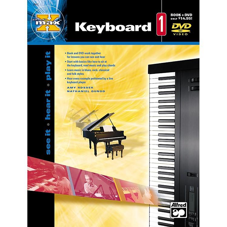AlfredMAX Series Keyboard Instruction 1 (Book/DVD)