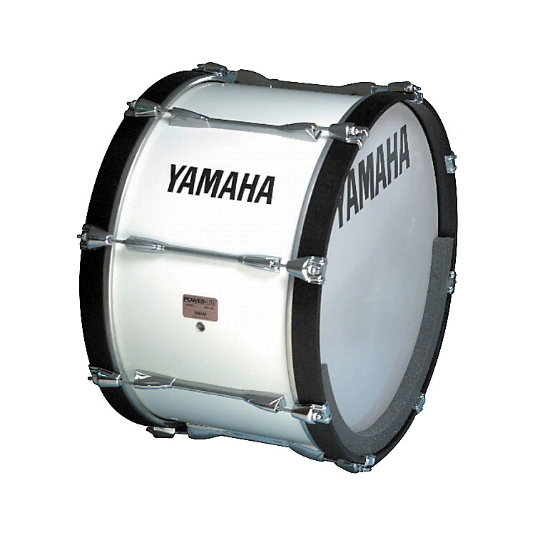 Yamaha MB-6100 Power-Lite Bass Drum White 22 Inch