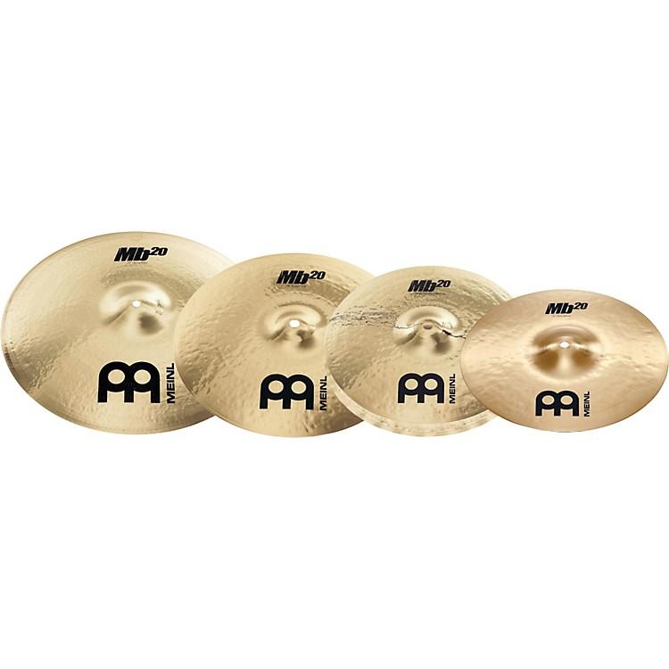 MeinlMB20 Rock Cymbal Pack
