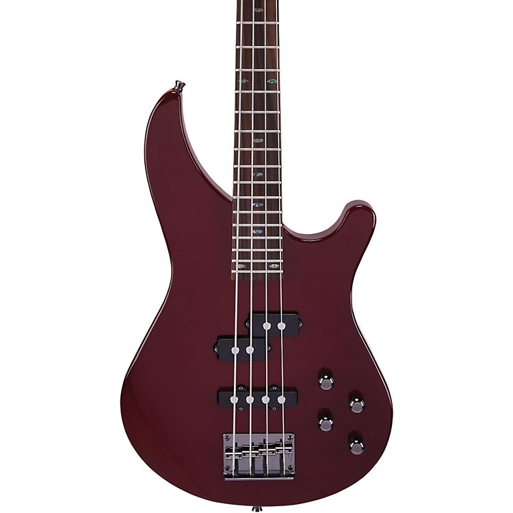 MitchellMB200 Modern Rock Bass with Active EQBlood Red