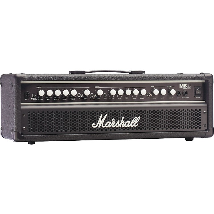 Marshall MB450H 450W Hybrid Bass Head Black With Metal Grille