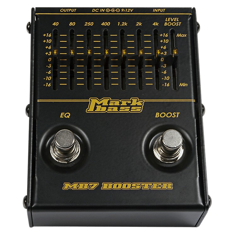 MarkbassMB7 Booster 7-Band Bass Graphic EQ