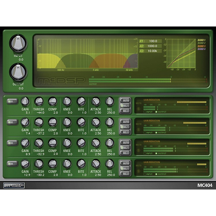 McDSP MC2000 Native v5 Software Download