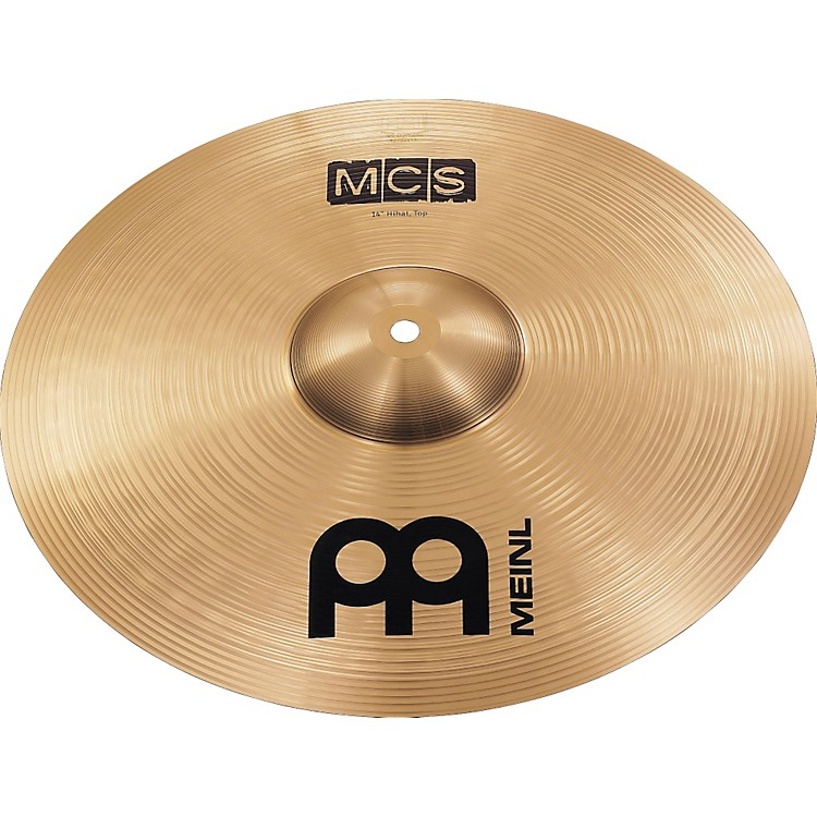Meinl MCS Medium Hi-hat Cymbals 14 in.