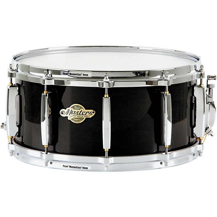 Pearl MCX Masters Series Snare Drum 14 x 6.5 in. Black Silk