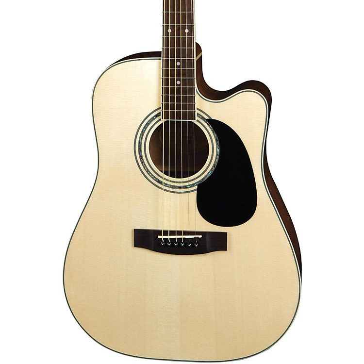 MitchellMD100SCE Dreadnought Cutaway Acoustic-Electric GuitarNatural