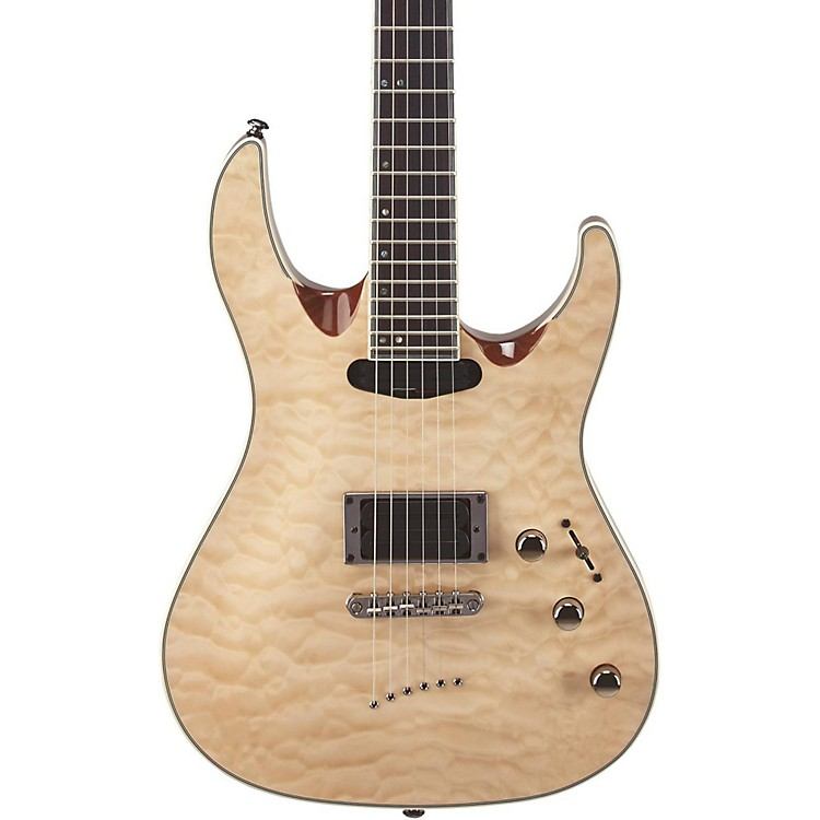 Mitchell MD400 Modern Rock Double-Cutaway Electric Guitar Natural
