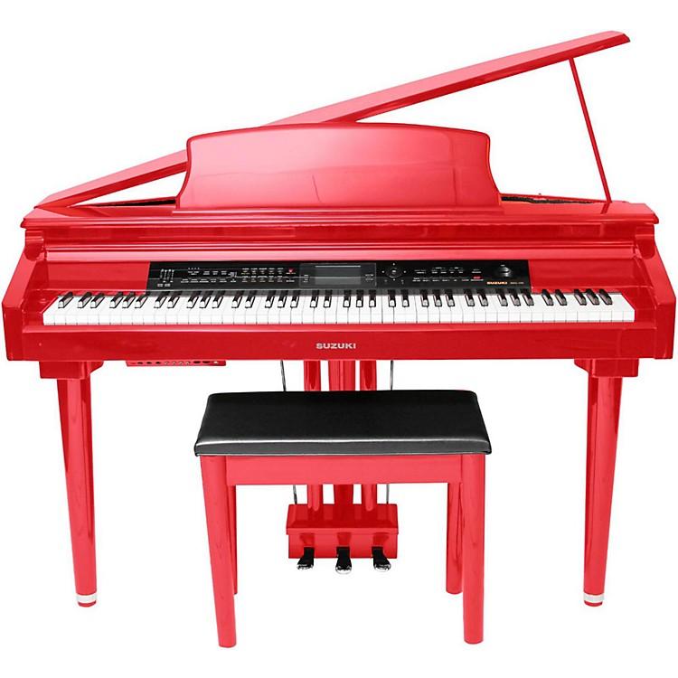 SuzukiMDG-300 Micro Grand Digital Piano Soft RedRed