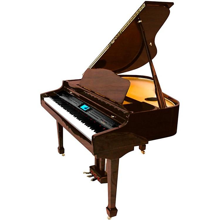 SuzukiMDG-400 Baby Grand Digital Piano, Dark Walnut