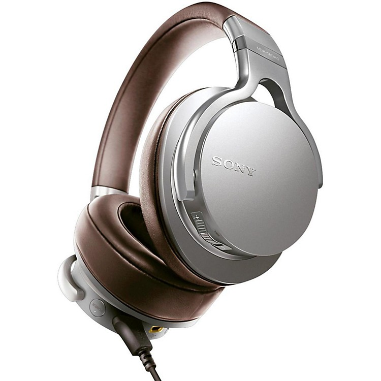 Sony MDR-1ADAC Headphones with Built-In DAC Silver