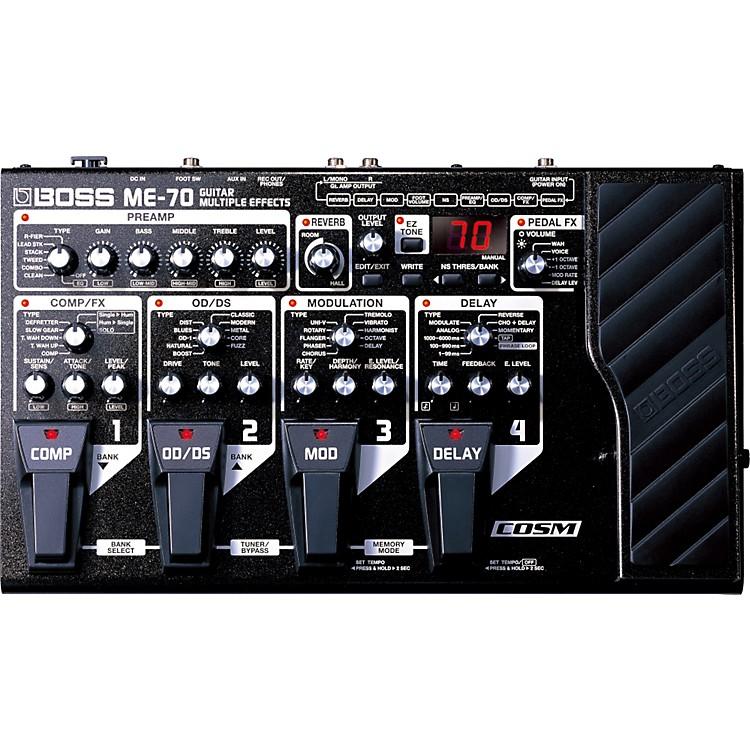 BossME-70 Guitar Multi-Effects Pedal