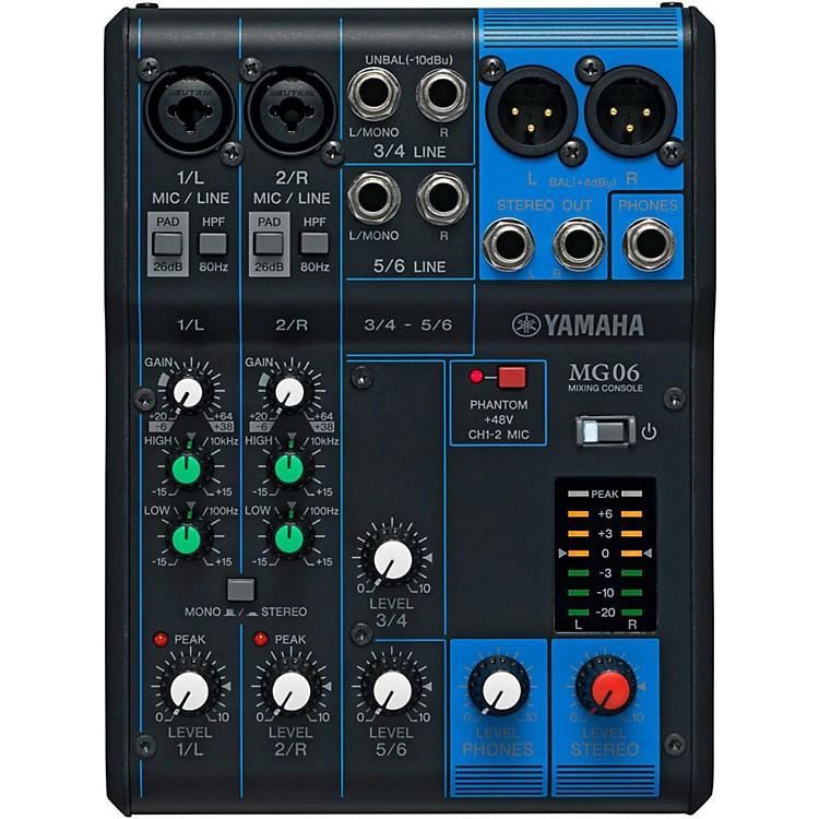 YamahaMG06 6-Channel Mixer