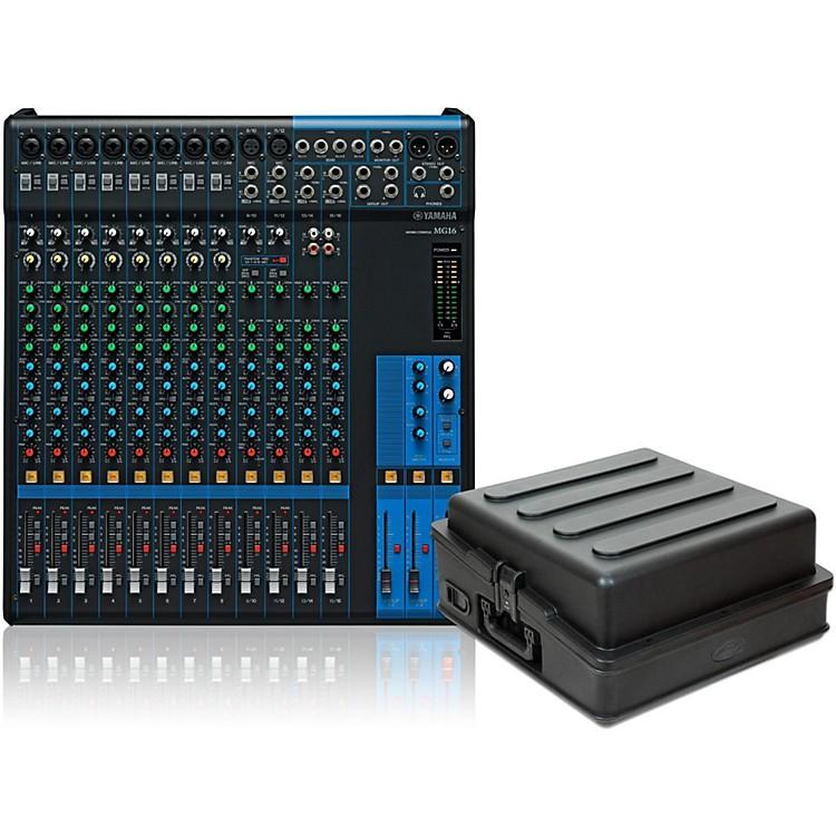 YamahaMG16 Mixer with Case