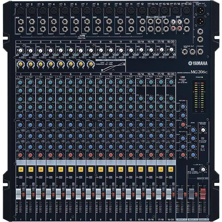 YamahaMG206C Mixer