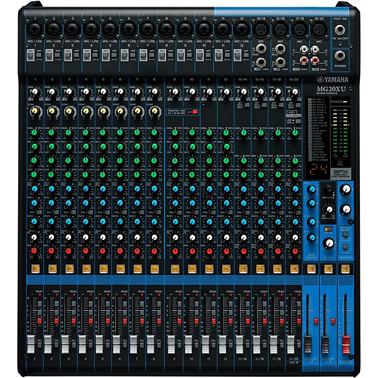 YamahaMG20XU 20-Channel Mixer with Effects